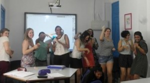 TEFL English teacher class