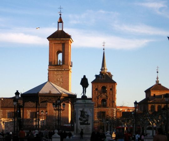 Alcala de henares travel in Spain