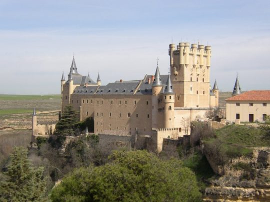 Alcazar Segovia travel in Spain
