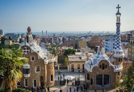 Barcelona Park guell travel in Spain
