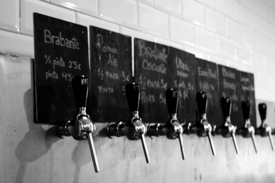 toast tavern best craft beer places in Madrid